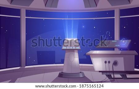 spaceship control center