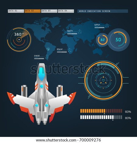 spaceships aircraft with future