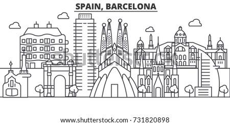 spain  barcelona architecture