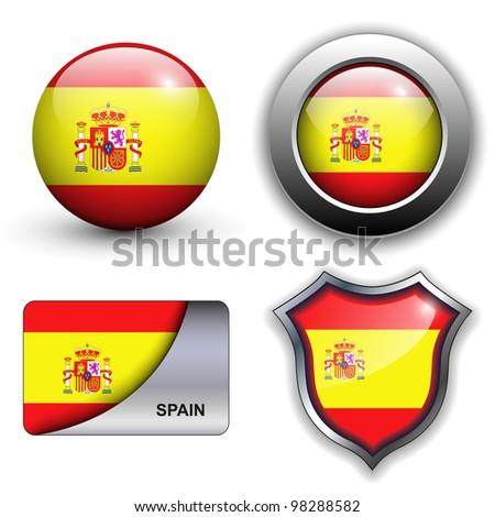 spain flag icons theme