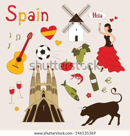 spain   landmarks and symbols