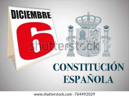 spanish constitution day dia