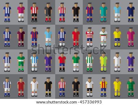 spanish football team kit