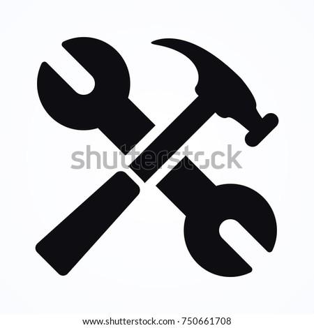 spanner equipment icon