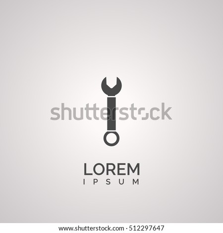 spanner icon. spanner logo