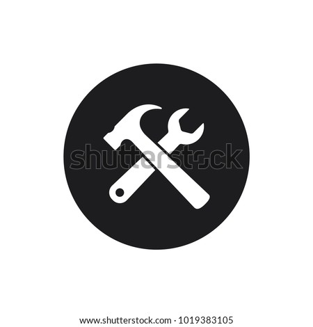 spanner vector icon