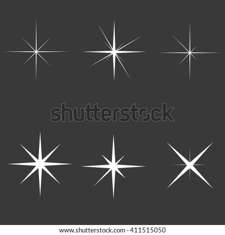 sparkle lights stars set