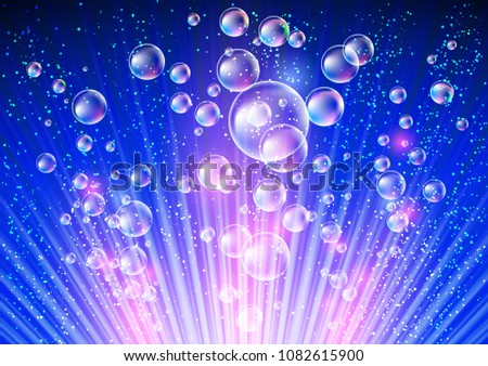 sparkling background with