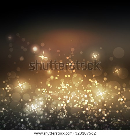 sparkling cover design template