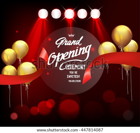 sparkling grand opening...