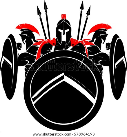 spartan army illustration