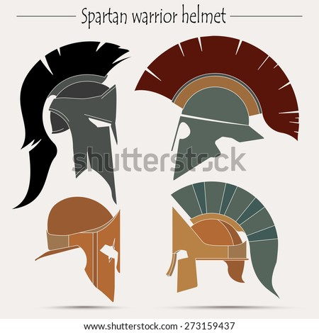 Spartan helmet greek warrior gladiator legionnaire for Spartan mask template