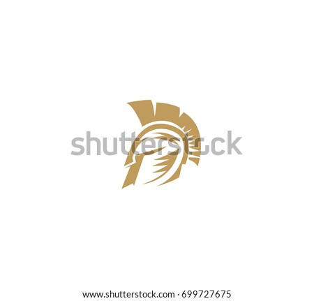 spartan helmet icon  warrior