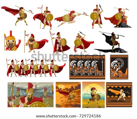 spartan soldier collection