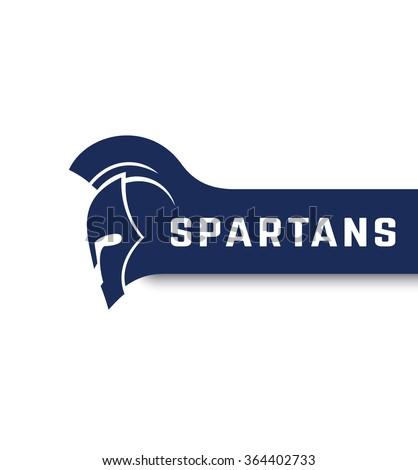 spartans logo with warrior