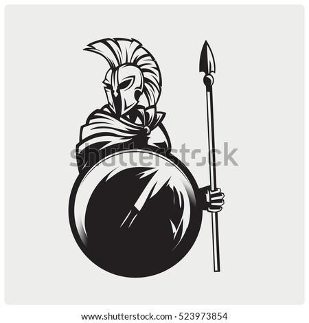spartans symbol illustration
