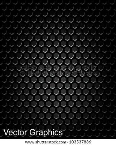 Speaker grill texture. Vector Illustration.