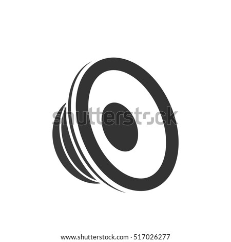 speaker icon - vector illustration.