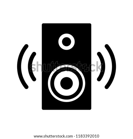 Speaker Icon vector templates