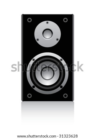 speaker on a white background #31323628