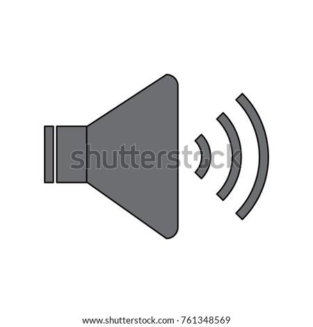 speaker sound volume audio button icon