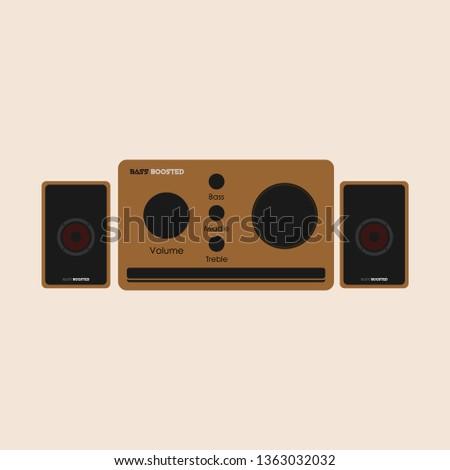 Speaker Stereo Set