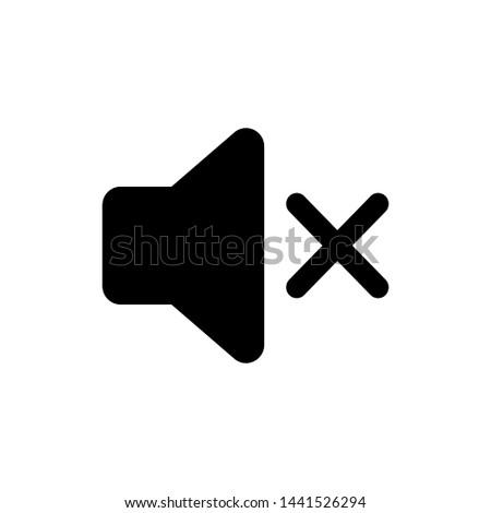 Speaker Volume Symbol Icon Vector Design Illustration Сток-фото ©