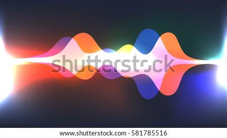 speaking sound wave