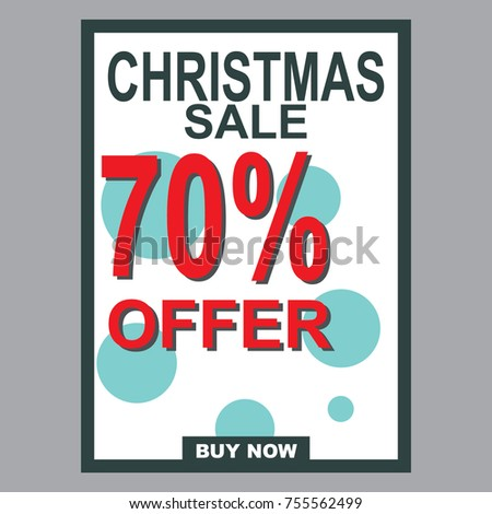 special discount template for sale banner poster flyer shop