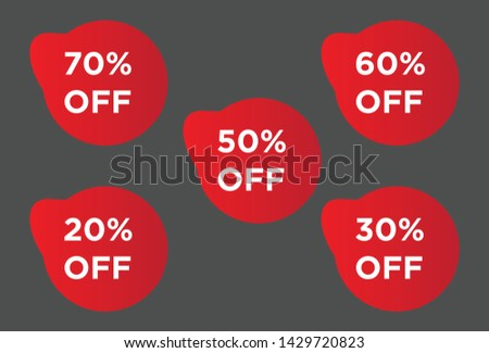 Special Discounts, Sales Collection Tags, discount balloons, discount sets, balloon vectors, editable