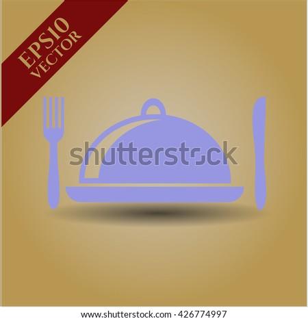 special food icon vector symbol flat eps jpg app web