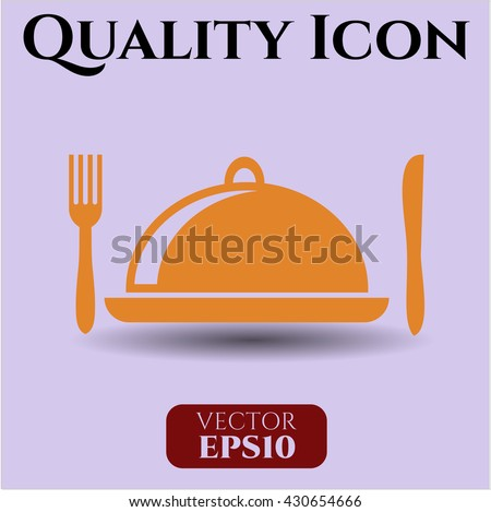 special food icon vector symbol flat eps jpg app web