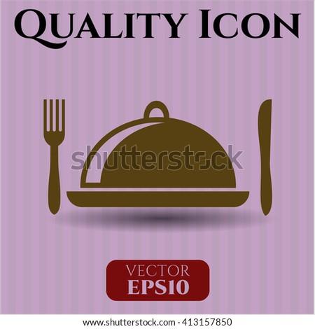 Special Food vector icon or symbol