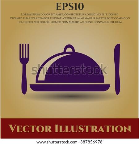 Special Food vector symbol