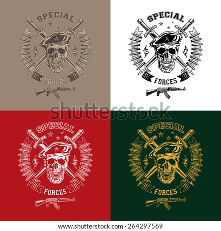special forces monochrome