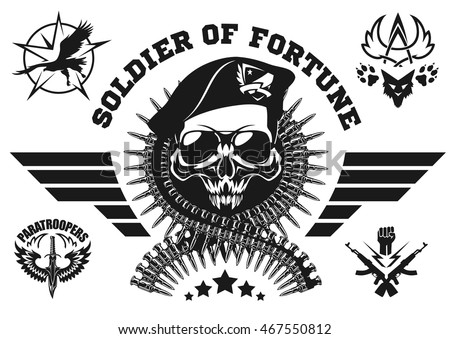 special forces vector emblem