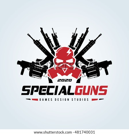 Stock Photo Special Guns Logo