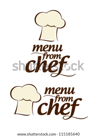 Special menu from Chef icons set. - stock vector