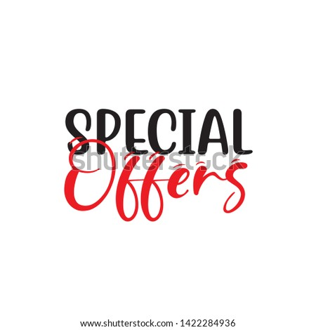 SPECIAL OFFER BACKGROUND, RED OFFER DISCOUNT VECTOR
