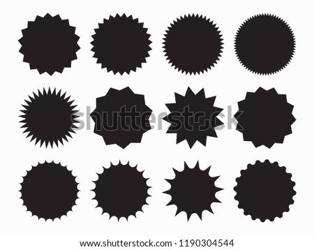 Special offer sale tag, discount offer price label, symbol for advertising campaign in retail, sale promo marketing, discount sticker, ads offer on shopping day isolated vector illustration. #1190304544