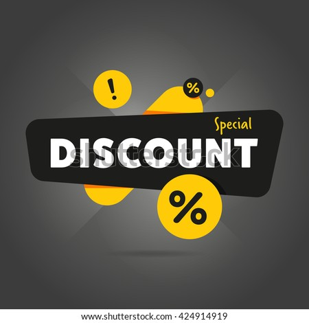 special offer sale tag discount ...