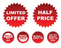 Special Offer sales tag. Offer discount price tag and flat design. big discount shopping concept graphic, banner, vector.
