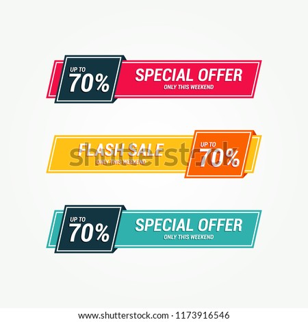 Special Offer Tag Banner #1173916546