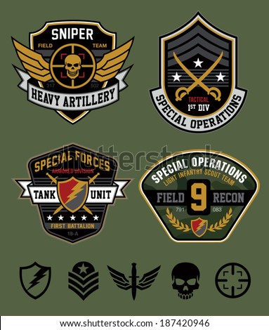 special ops patch set
