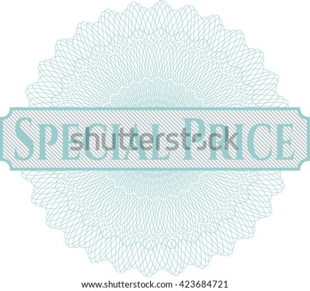 Special Price abstract rosette