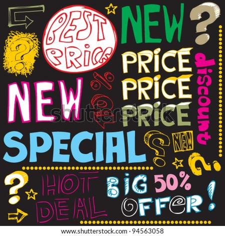 special price crazy doodles