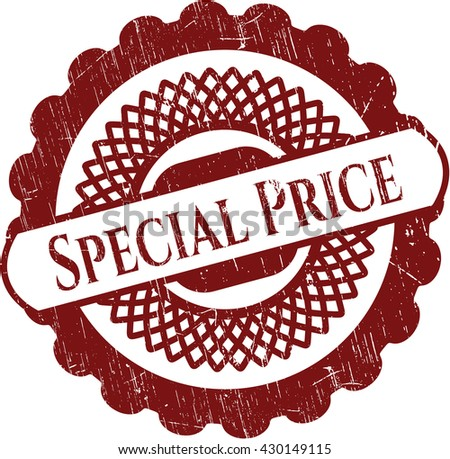 Special Price rubber grunge seal