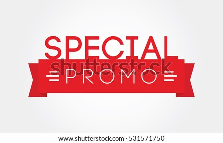 Special Promo Tag Label