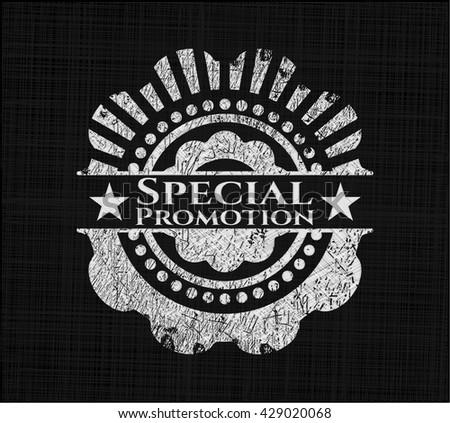 Special Promotion chalk emblem