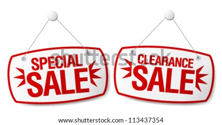 Tag sale signs to download